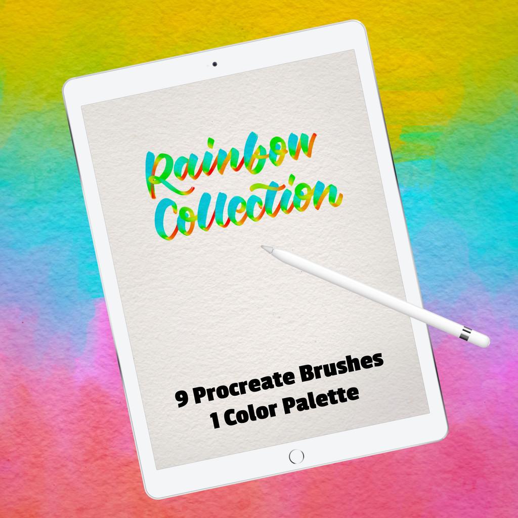 Procreate 5 - Rainbow Collection