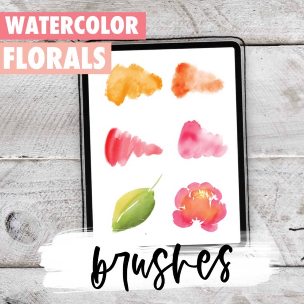 Florals Painting Starter brushes
