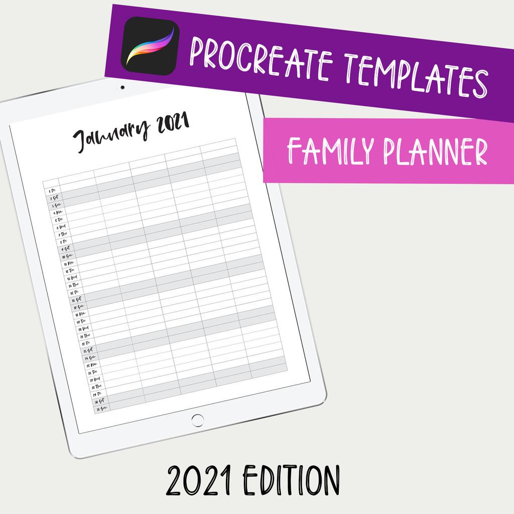 Family Planner 2021