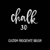 Chalk 3D Brush