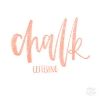 Chalk Lettering Brush