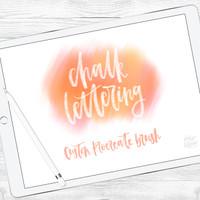 Chalk Lettering Brush