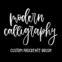 Modern Calligraphy Brush