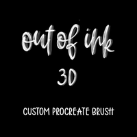 Out Of Ink 3D Brush