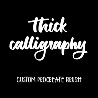 Thick Calligraphy