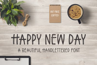 Happy New Day Font
