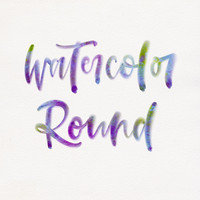 Watercolor Lettering Set
