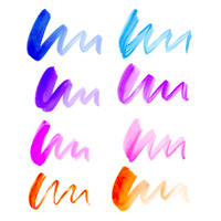 Aquarelle Lettering Set