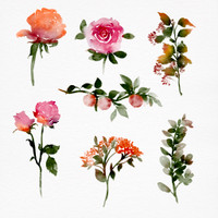 Step by Step Fall Florals