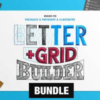 Builder Bundle - Grid + Letter Builder
