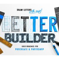 Letter Builder - Drawing Letter Forms by Stefan Kunz