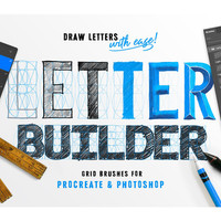 Letter Builder - Drawing Letter Forms by Stefan Kunz