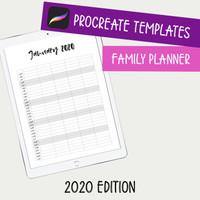 Family Planner 2020