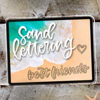 Sand Lettering Kit