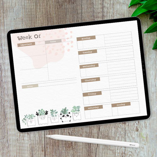 Monthly Planner Templates