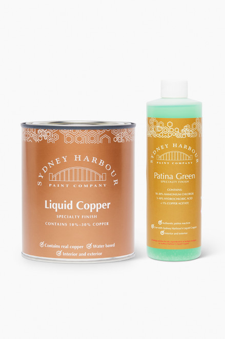 Liquid Copper & Patina Green Kit