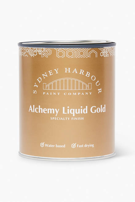 Liquid Gold paint can
