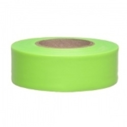 "1"" Lime Green Flagging"