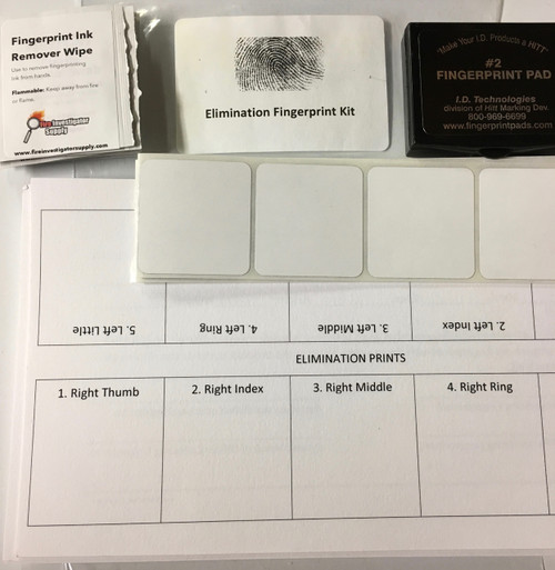 Elimination Fingerprint Print Kit