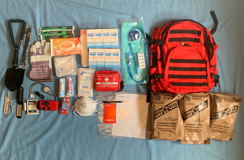 72 Hour Emergency Survival Kit