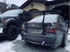 HARD Motorsport Chassis-Mount Spoiler Upright Kit - E90
