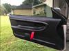 IG: @greg.firn122From old peeling leather door panels to replacement @hardmotorsport door panels. With a slight modification. Custom red door pulls.