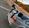 HARD Motorsport - BMW E46 Coupe Chassis-Mount Rear Spoiler Upright Kit
