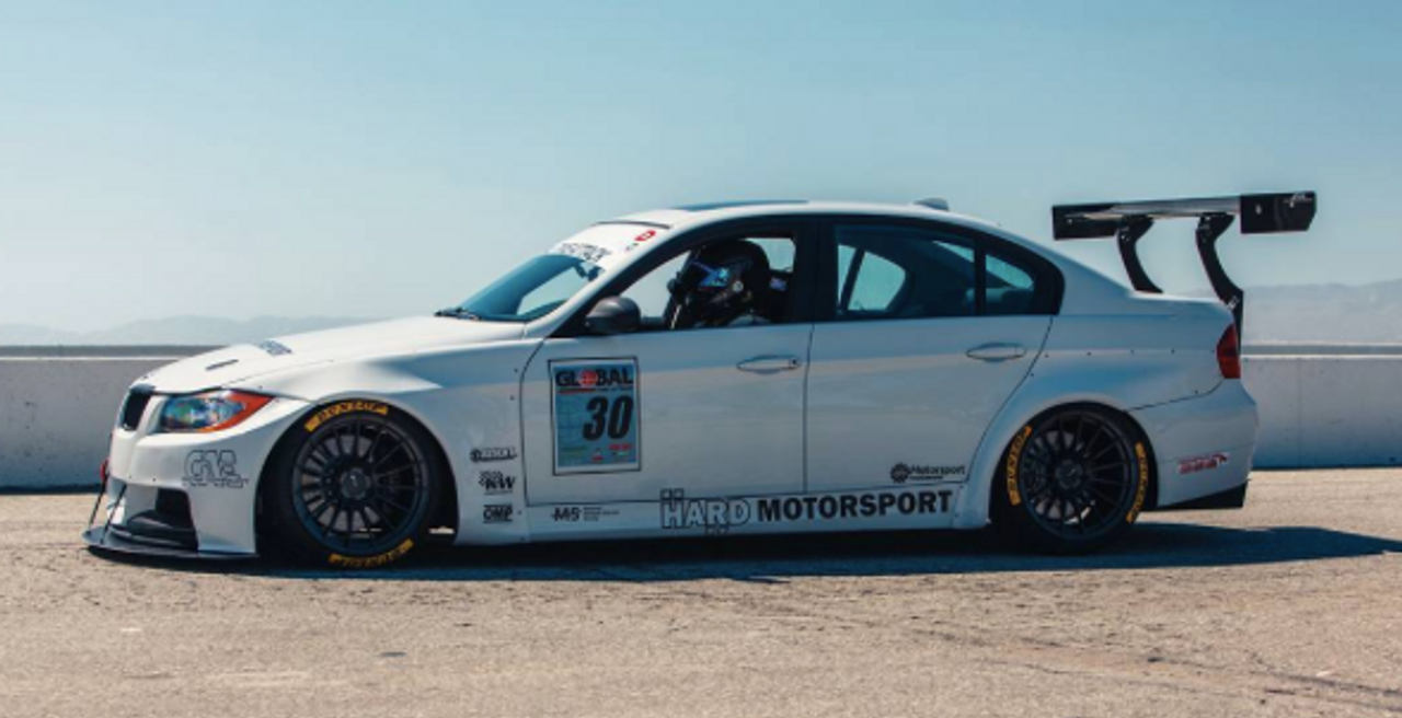 Leichtbau E90 at Global Time Attack Rd 1 / Buttonwillow.