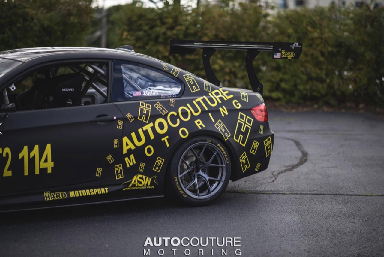 HARD Motorsport - BMW E92 Chassis-Mount Spoiler Upright Kit