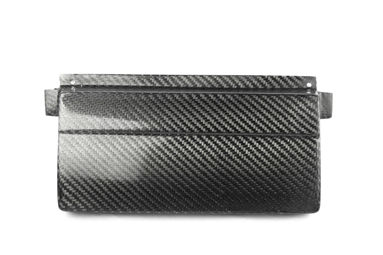 Carbon Fiber OEM style Stereo Delete Plate for BMW E46 dash