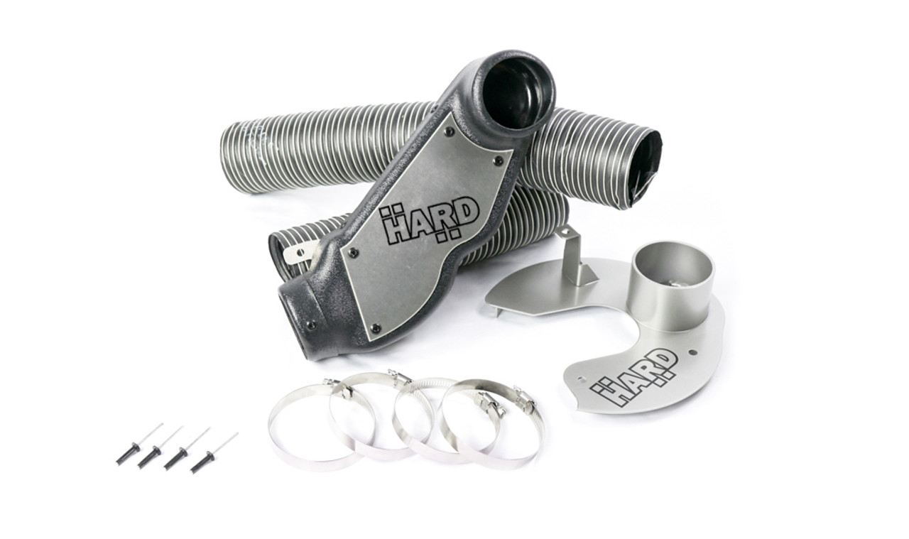 HARD Motorsport - BMW E46 M3  Brake Cooling Ducts with no inlets