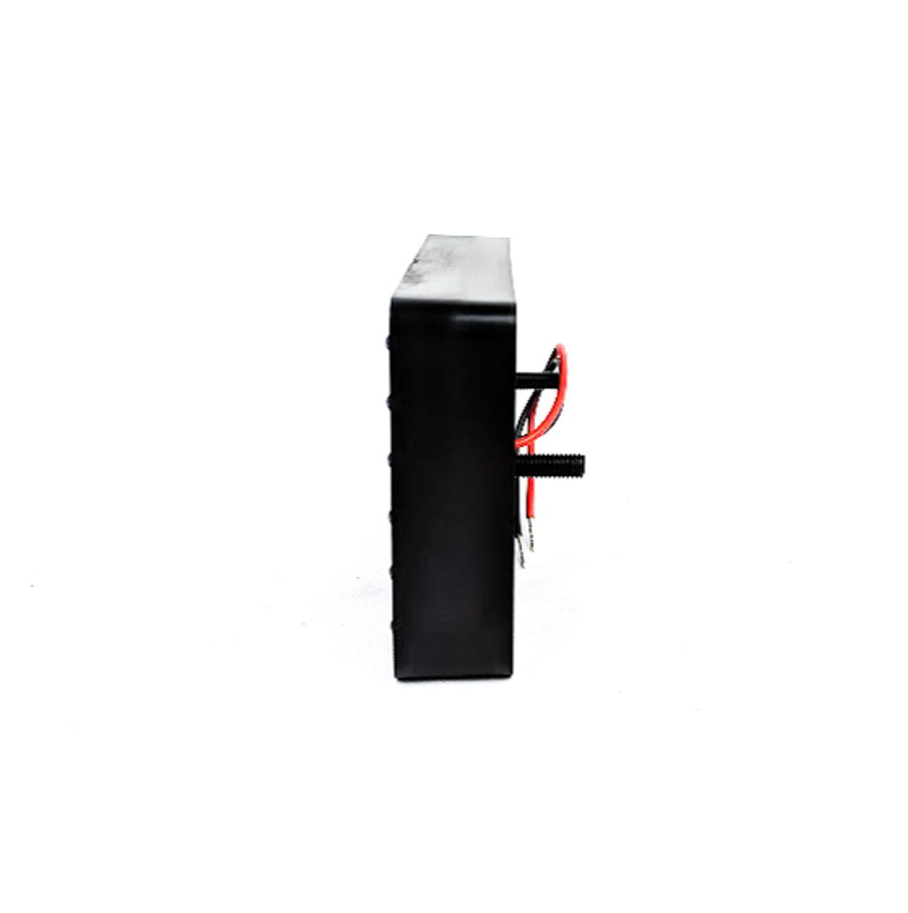 HARD Motorsport LED Red Rain light with Carbon Fiber Trim - Universal