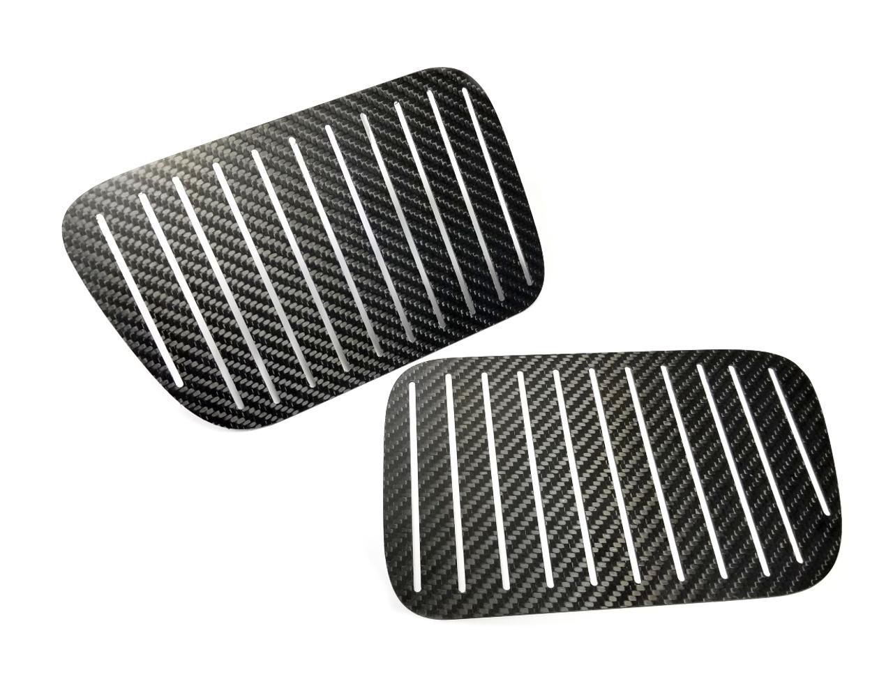 "HARD Motorsport - BMW E36 Carbon Fiber Kidney Grill Aero ""Qualifying Plates"" - BMW E36"