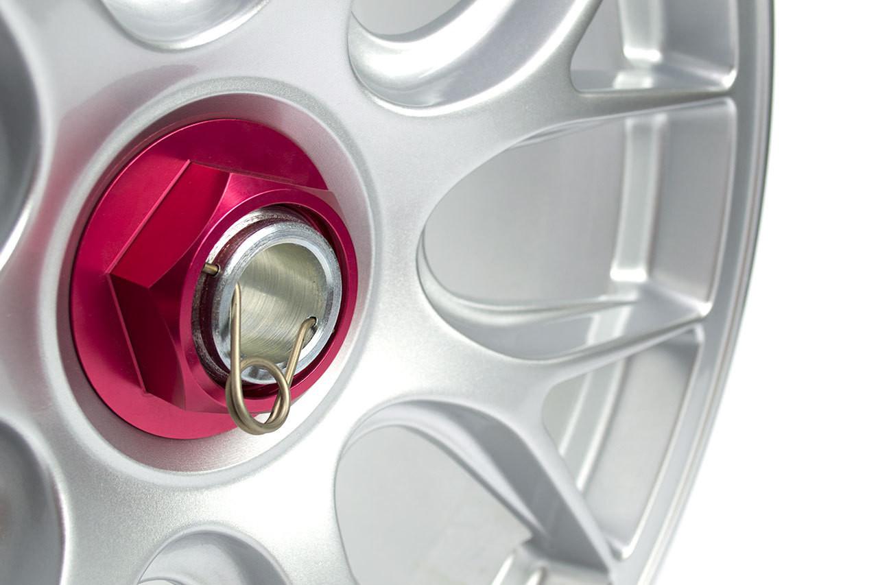 Center Lock Wheel Spring Shown Installed