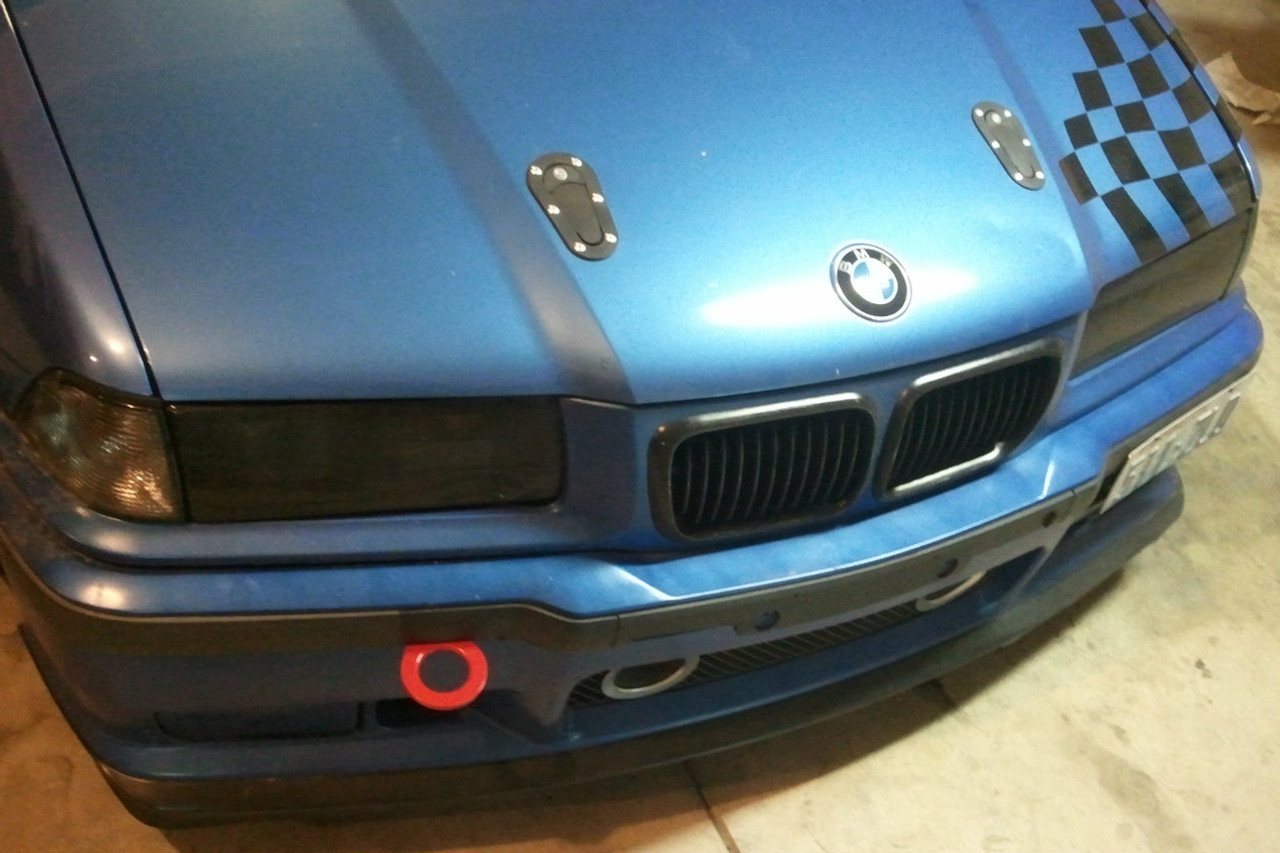 Tow Hook Installed on customers BMW E36 M3