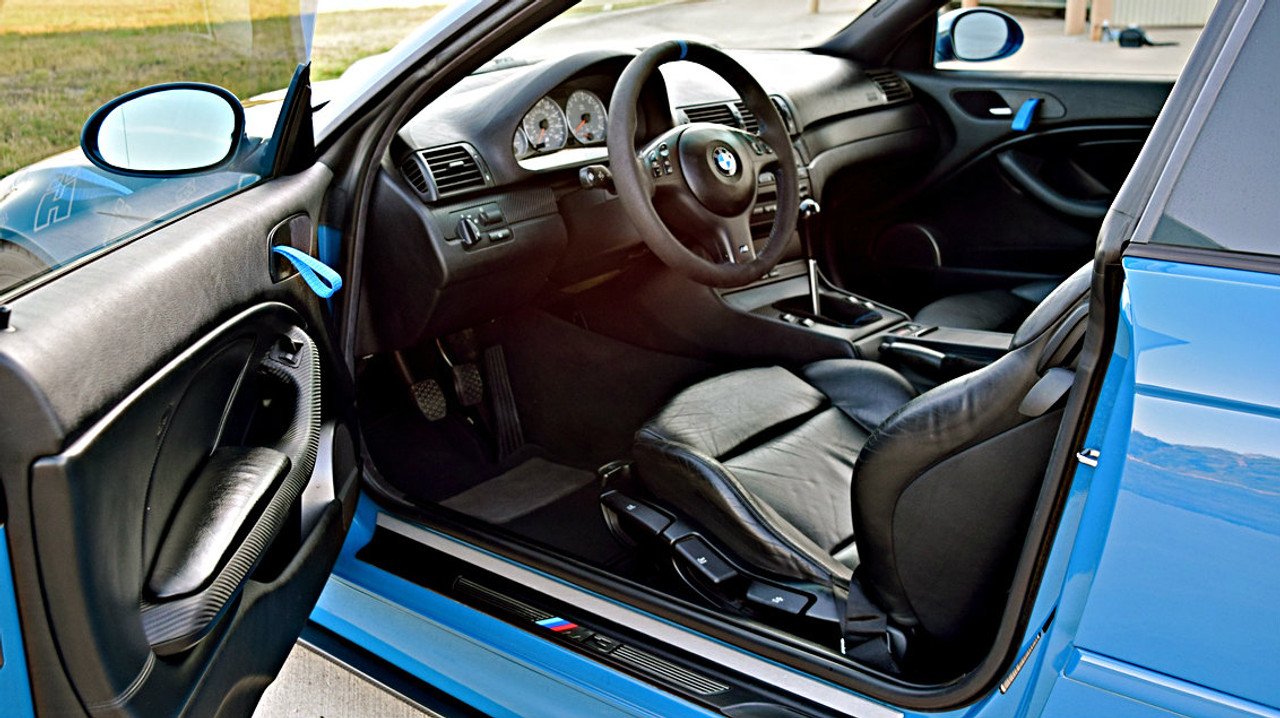 Rs Style Door Pull Strap Conversion For E46 M3 Coupe
