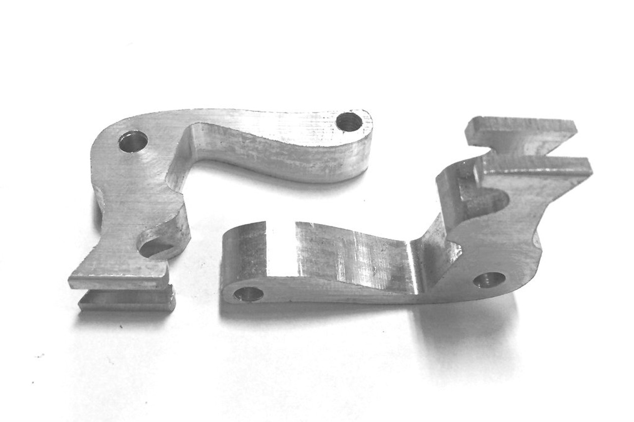 RS Style Door Pull For E46 Coupe CNC Mechanism
