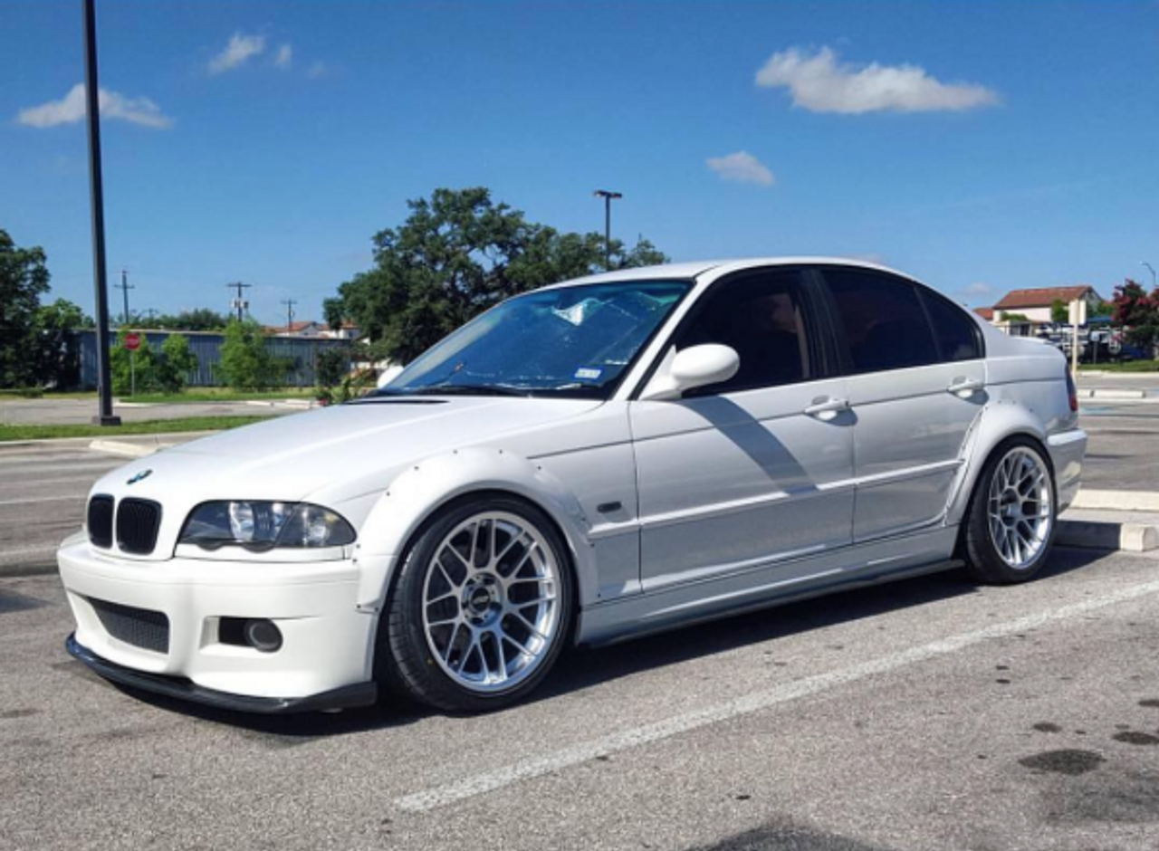 HARD Motorsport BMW E46 M3 Fender Flares for E46 Sedan