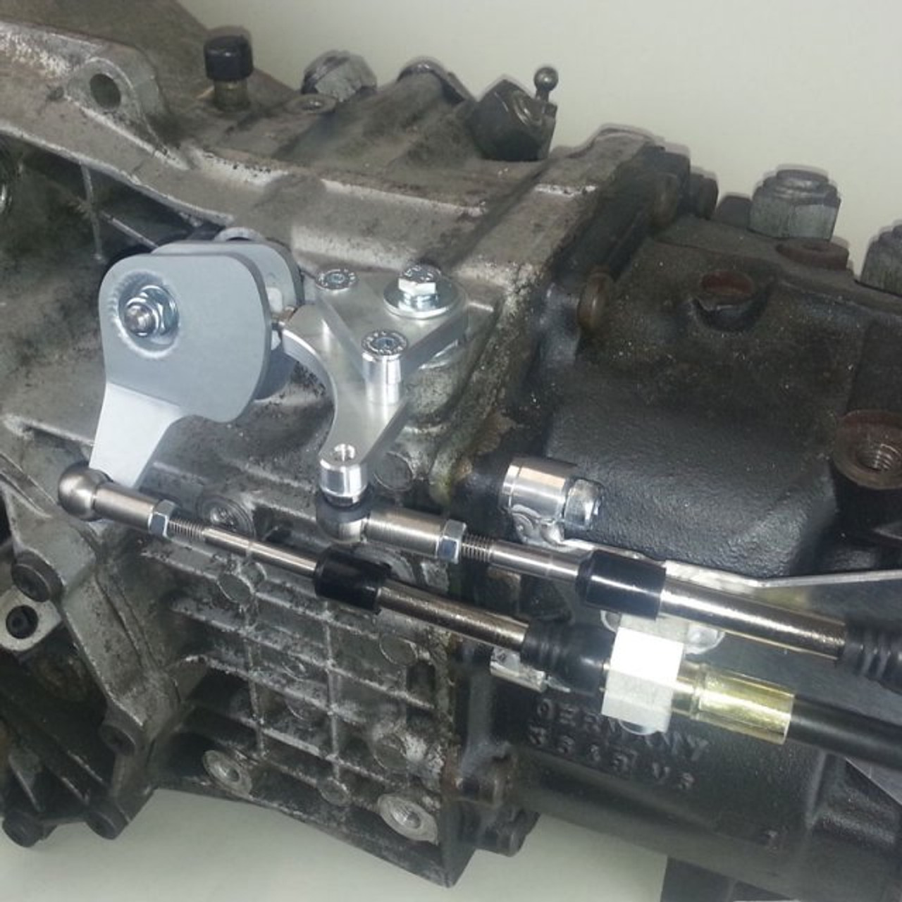 CAE Ultra Shifter Audi A4 Typ B5 ;B6 with 01E HIGH Gearbox detail 2