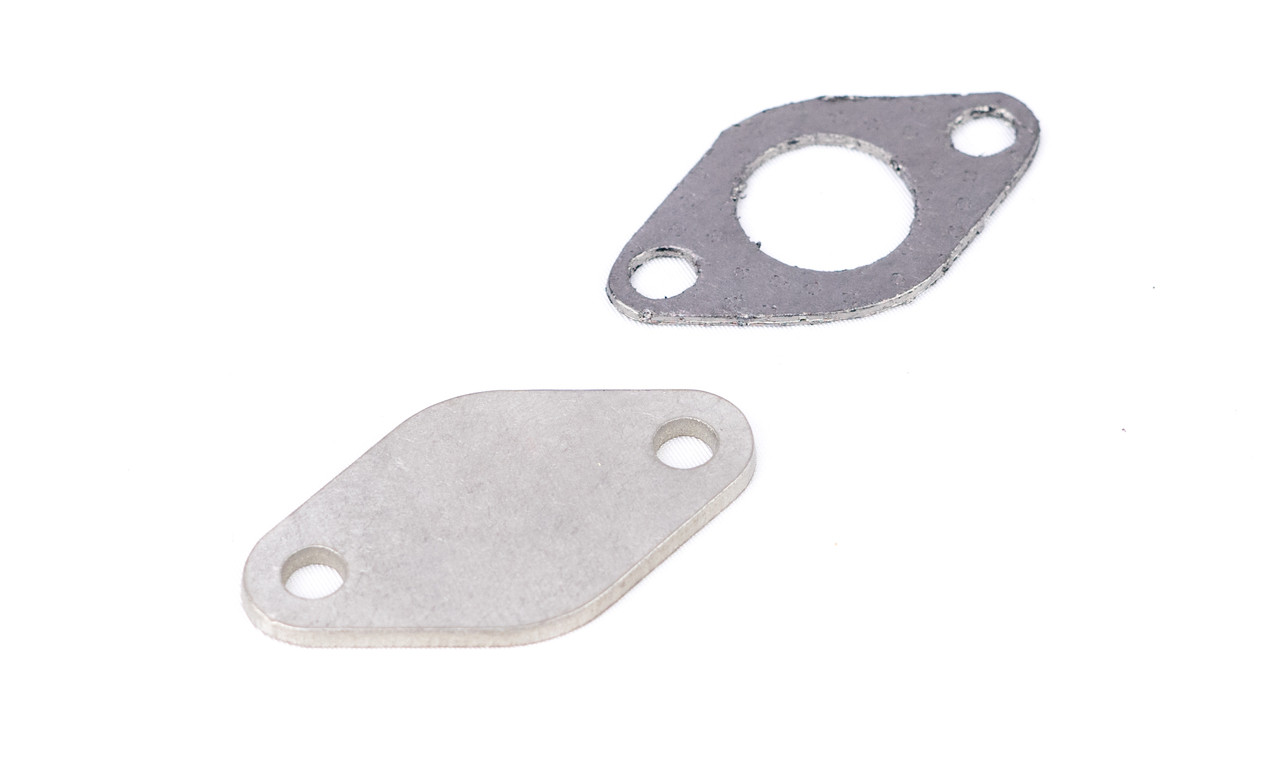 BMW E46 M3 S54 EGR Delete Plate With Optional Gasket