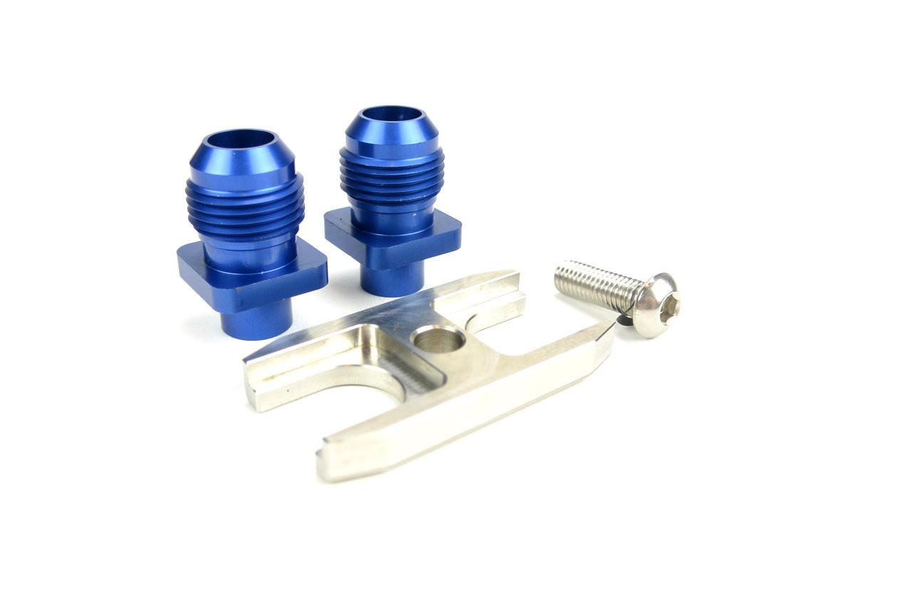 HARD Motorsport Oil Cooler Fitting Adaptor Plate Profile