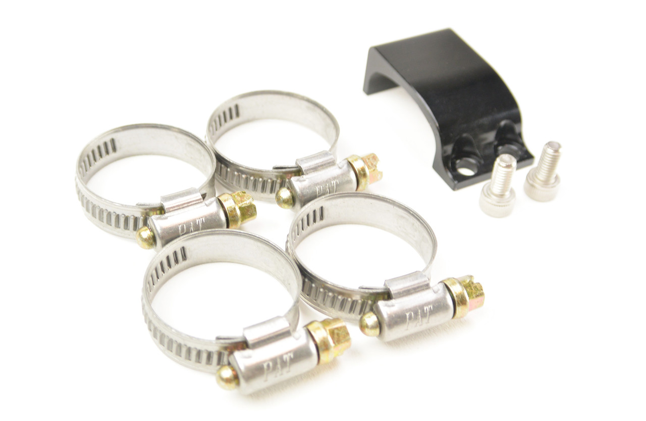 Mounting Supplies Include with the 335i E9X Oil Catch Can Kit.