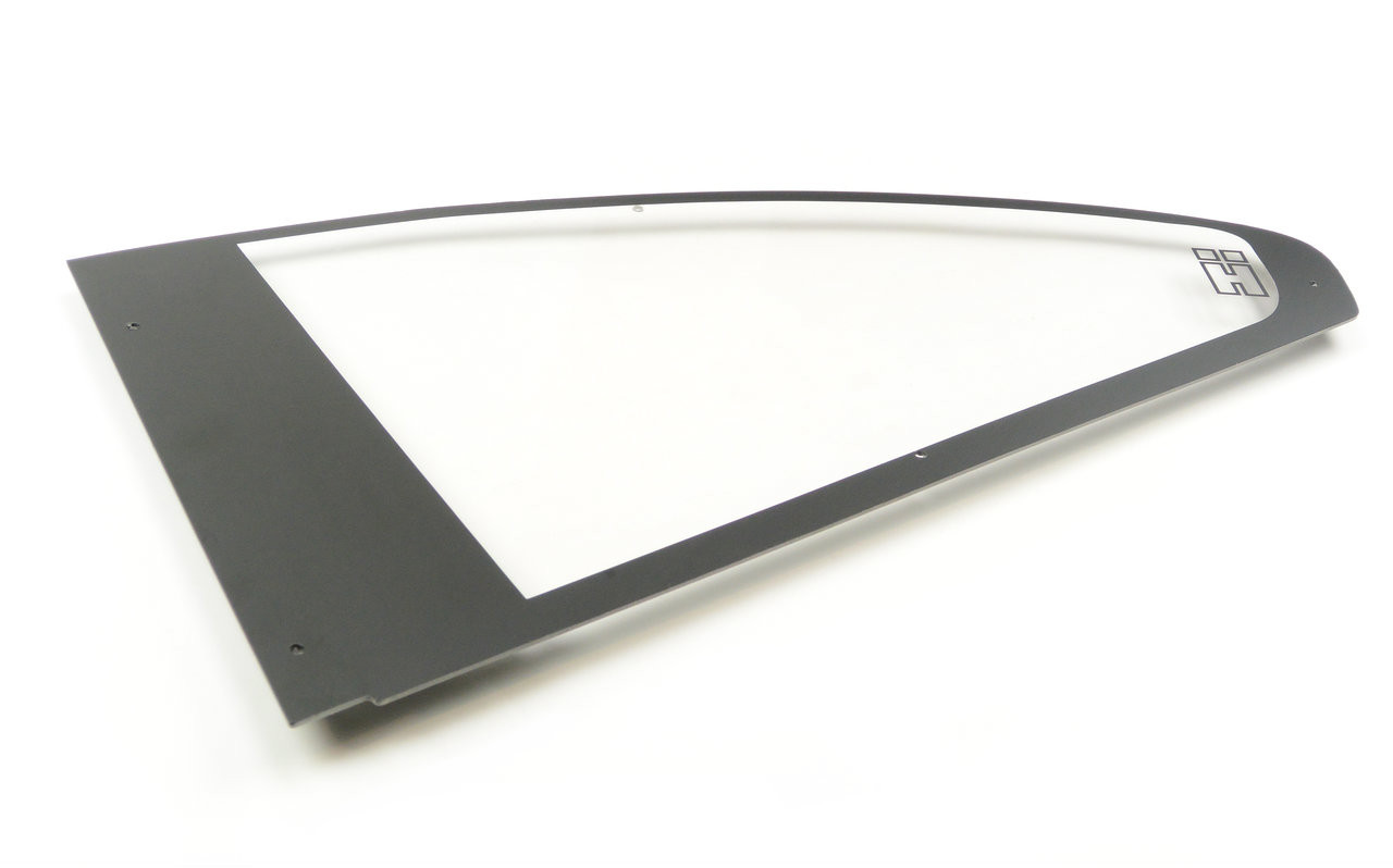 BMW E46 Coupe Polycarbonate Rear Windows. Sold as a Pair