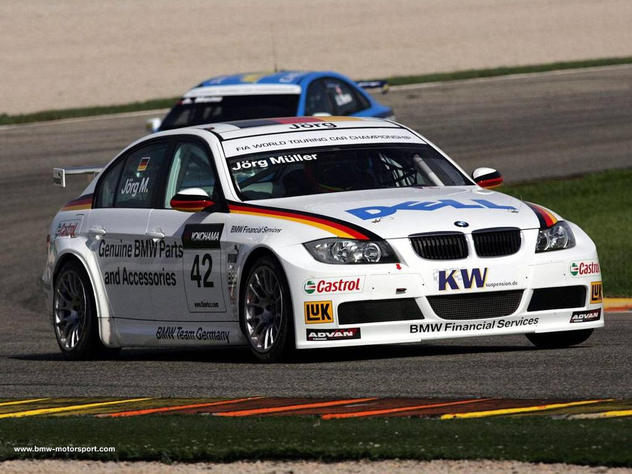 BMW WTCC 320i - Our Inspiration to develop this kit (reference only)