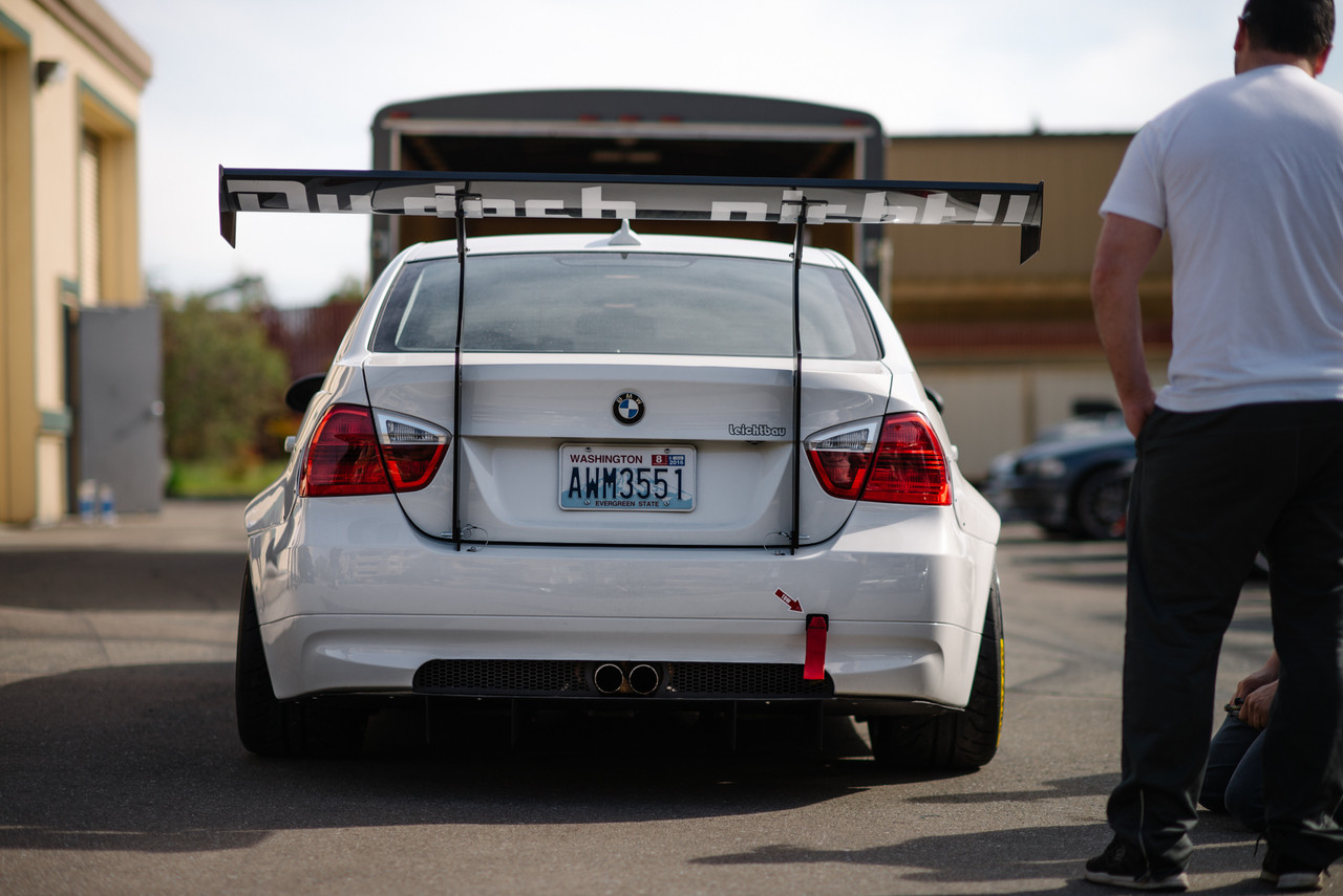 "BMW E90 Widebody Kit on @HARDMotorsport Project Leichtbau #E90 ""Dem Hips Doe!"""