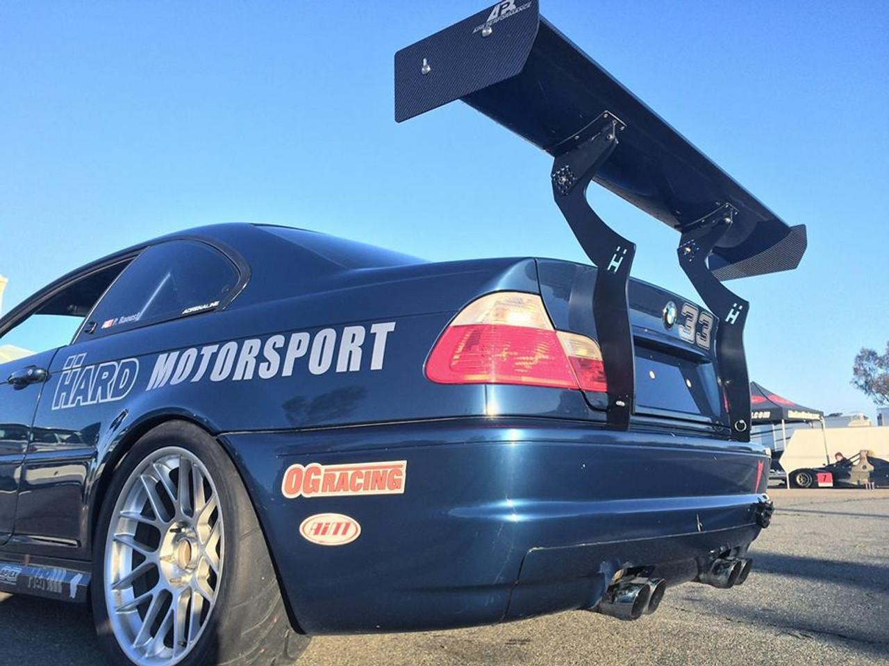 HARD Motorsport BMW E46 Upright Kit Installed on a customers car