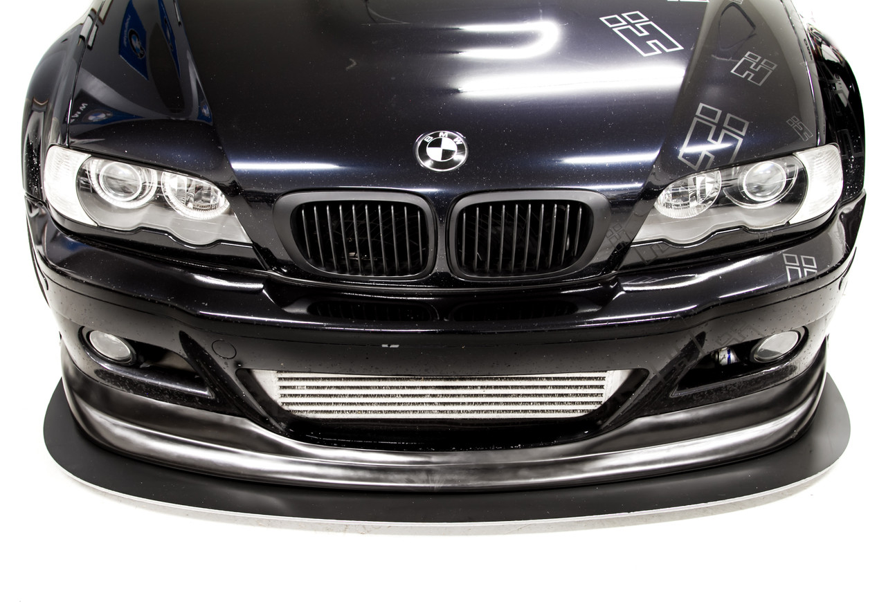 BMW E46 M3 Front Splitter with ACS style front lip Installed on a customers car