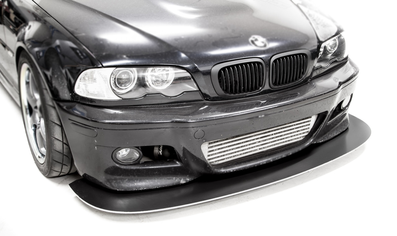 Front Splitter installed on a customers BMW E46 M3 without ACS style front lip