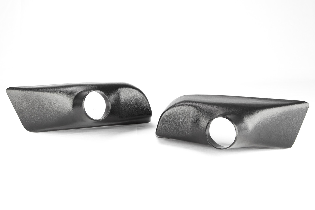 "Fog Light Inlets for the Brake Cooling Kit for the BMW E9X Thermoformed ABS plastic with 3"" Outlets"
