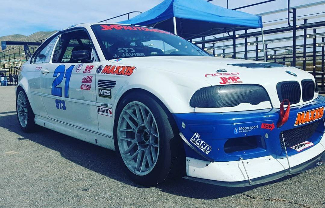 HARD Motorsport E46 Dive planes/ Canards installed on a customers car